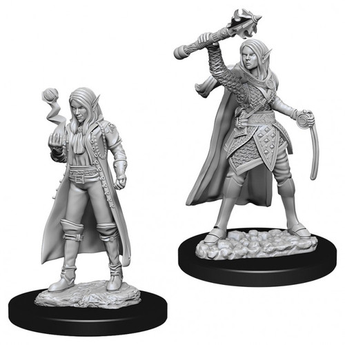 D&D NMU: Female Elf Cleric W10