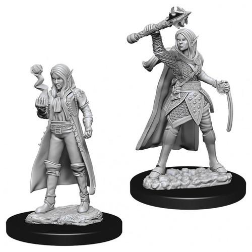 D&D NMU: Female Elf Cleric W10