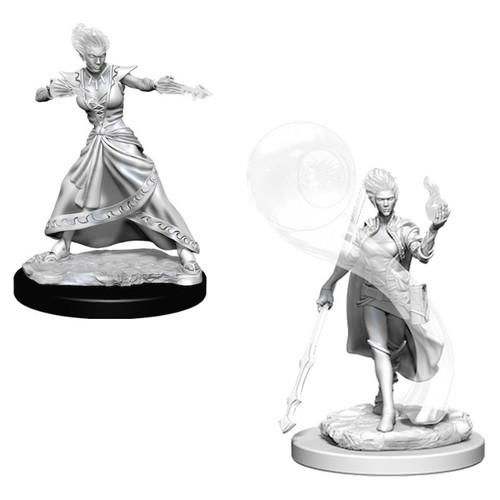 D&D NMU: Fire Genasi Female Wizard