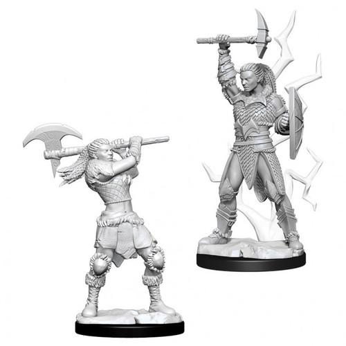 D&D NMU: Female Goliath Barbarian W10