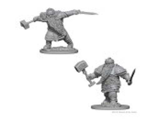 D&D NMU Fighter Dwarf Male