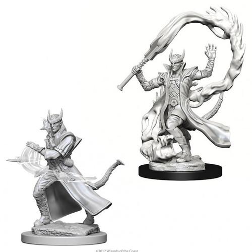 D&D NMU: Tiefling Male Sorcerer