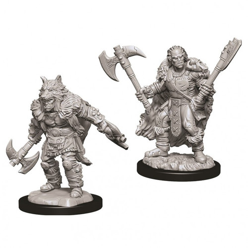 D&D NMU: Male Half Orc Barbarian W9
