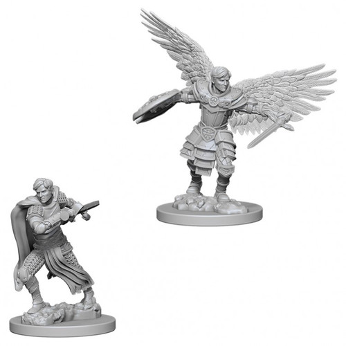 D&D: NMU: Male Aasimar Fighter W6