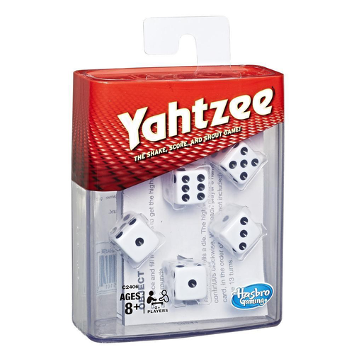Yahtzee Classic small plastic box (2017) (Sold Out)