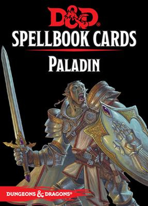 Dungeons & Dragons Spellbook Cards: Paladin Deck