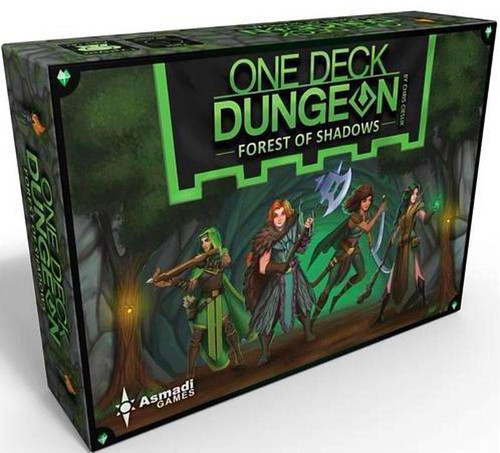 One Deck Dungeon: Forest of Shadows box