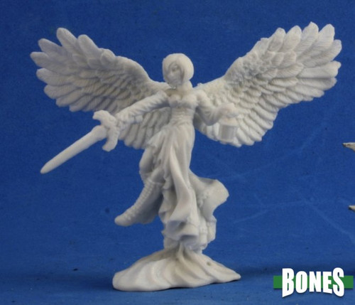 Image of Reaper's Angel of Shadows mini, front view