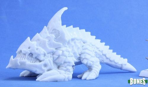 Image of Reaper's Burrowing Horror mini, left side view