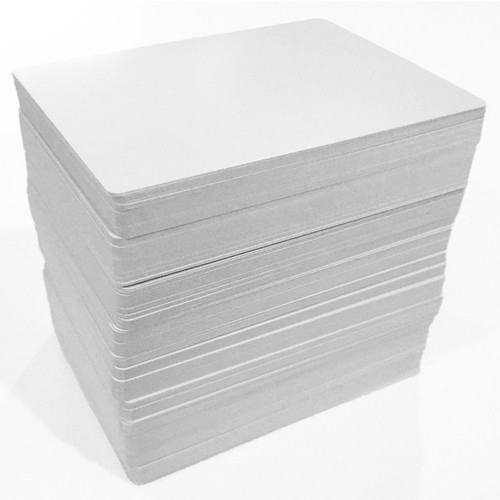 180ct Cards Blank Matte 2.5x3.5