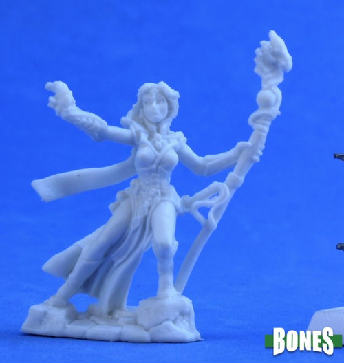 Image of Reaper's Andriessa, Sorceress mini, front view