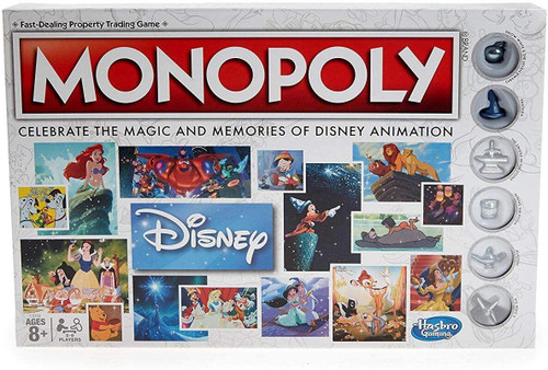 Walt Disney Animation Monopoly (Sold Out)