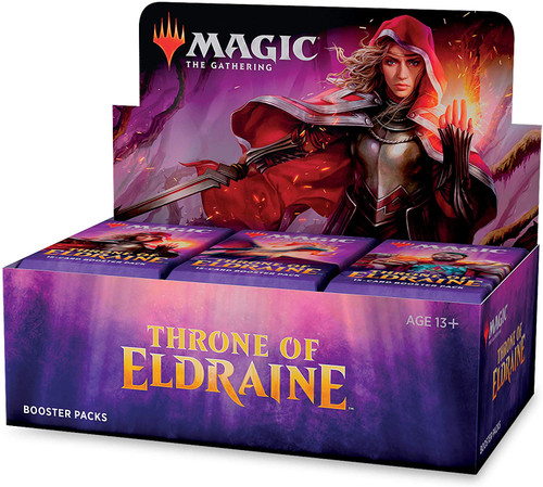 Magic the Gathering: Draft Booster Throne of Eldraine box