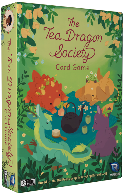 The Tea Dragon Society Card Game box