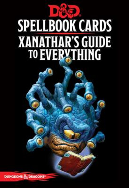 Dungeons & Dragons Spellbook Cards: Xanathars Guide to Everything