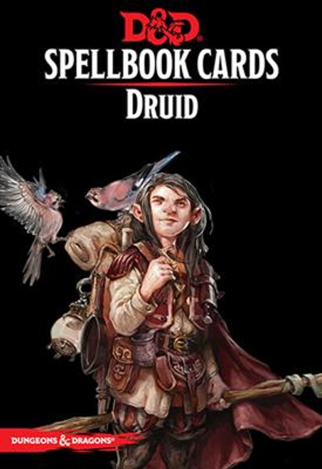 Dungeons & Dragons Spellbook Cards: Druid Deck