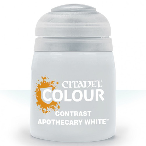 29-34 Contrast: Apothecary White