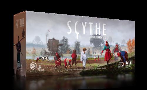 Scythe: Invaders from Afar box
