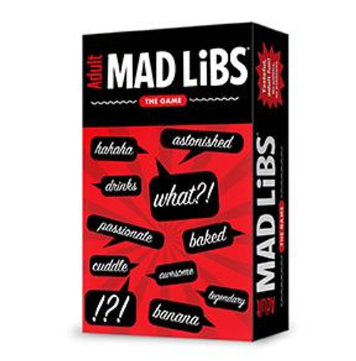 Adult Mad Libs Box