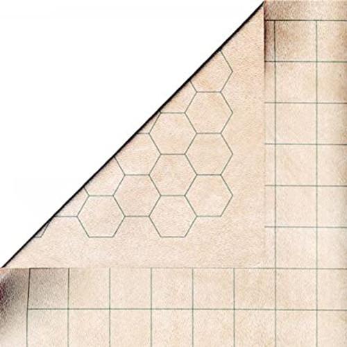 1 in sq/hex battle mat