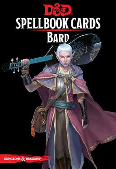 Dungeons & Dragons Spellbook Cards: Bard Deck
