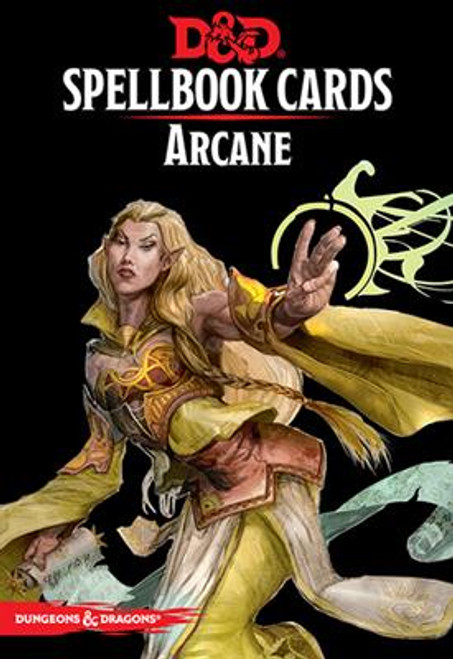 Dungeons & Dragons Spellbook Cards: Arcane Deck