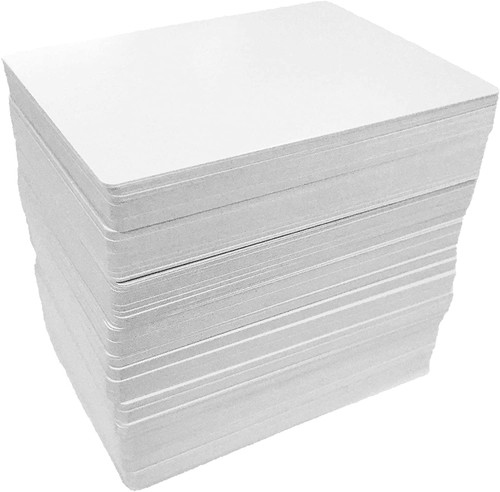 50ct Cards Blank Matte 2.5x3.5