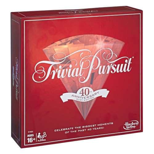 Trivial Pursuit Ruby 40th Ed (Sold Out)