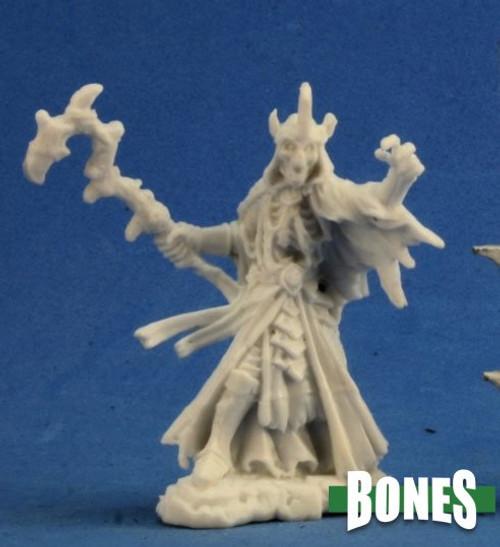 Image of Reaper's Lich mini, front view