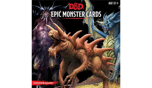 Dungeons & Dragons Epic Level Monster Cards