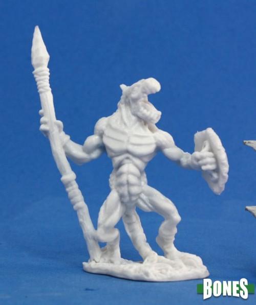 Image of Lizardman Warrior miniature
