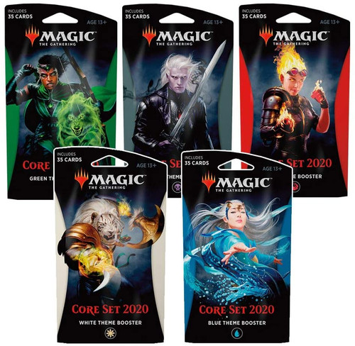 Magic the Gathering: Theme Booster Core 2020 packs