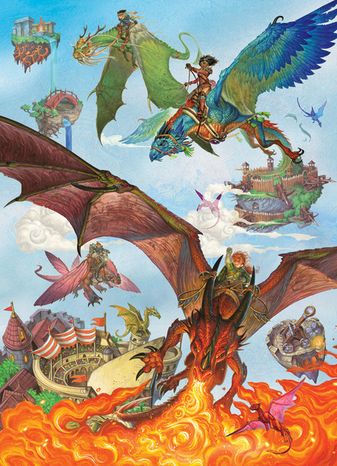Dragon Flight 350pc Family image