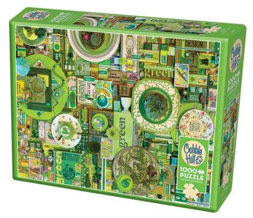 Green ROYGBIV 1000pc box