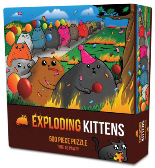 Time to Pawty 500pc (Exploding Kittens) box