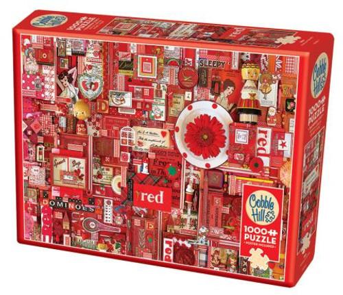 Red ROYGBIV 1000pc box