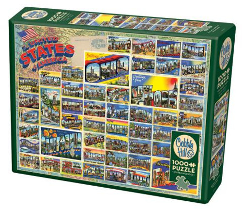 Vintage American Postcards 1000pc box