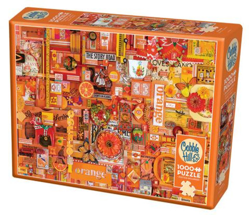 Orange ROYGBIV 1000pc box