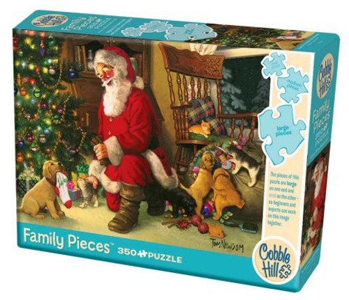Santa's Lucky Stocking 350pc Family box