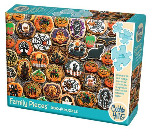 Halloween Cookies 350pc Family box
