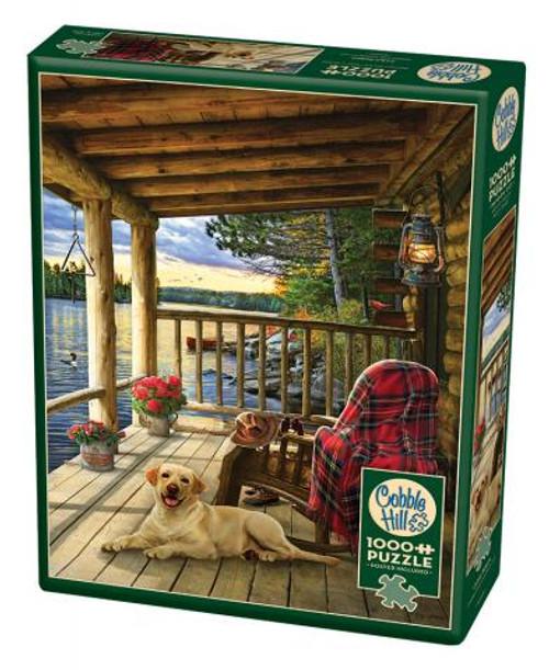 Cabin Porch 1000pc box