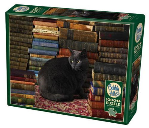 Library Cat 1000pc box