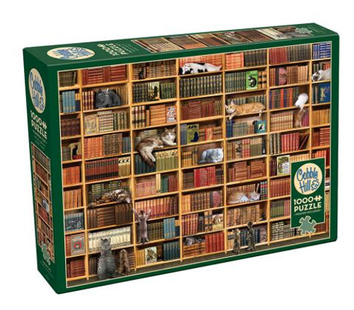 The Cat Library 1000pc box