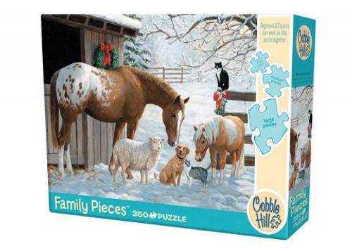 Winter Barnyard 350pc Family box