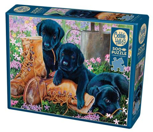 Trouble in the Garden 500pc box