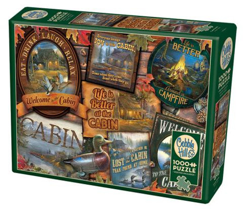 Cabin Signs 1000pc box