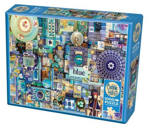 Blue ROYGBIV 1000pc box