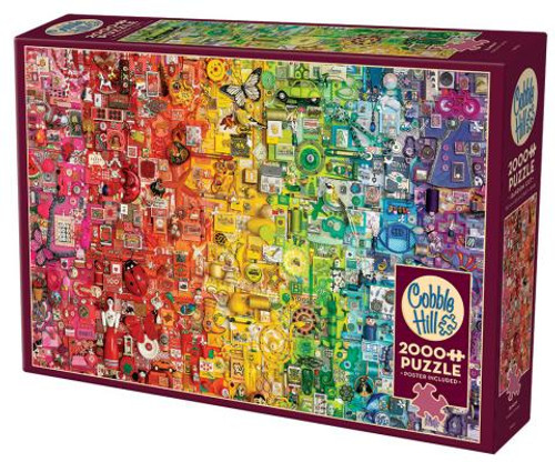 Rainbow 2000pc box