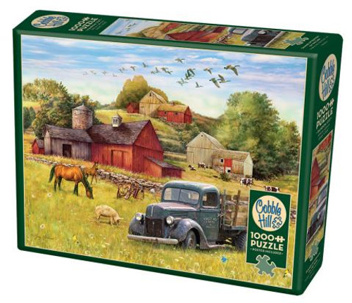 Summer Afternoon on the Farm 1000pc box
