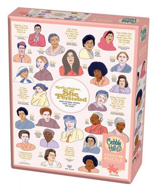 Nevertheless She Persisted 1000pc box